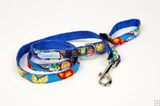 Hawaiian Flip Flop Blue(Blue) Leash