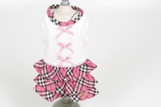 Royal Oxford Pink Ribbon Dress